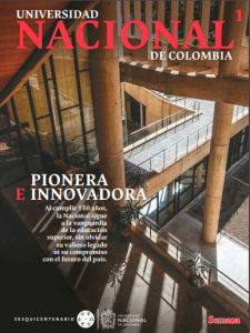 Portada Revista Universidad Nacional
